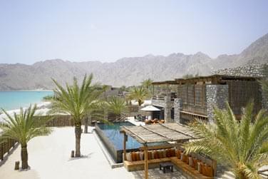 Espace extérieur et piscine privée de la Private Reserve